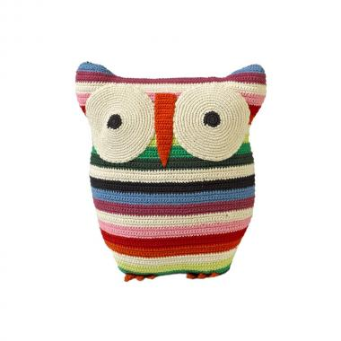 Crochet Owl Cushion