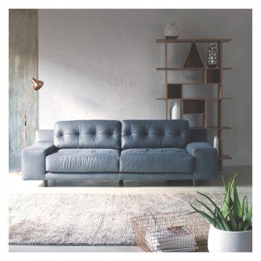Серый диван Аскем